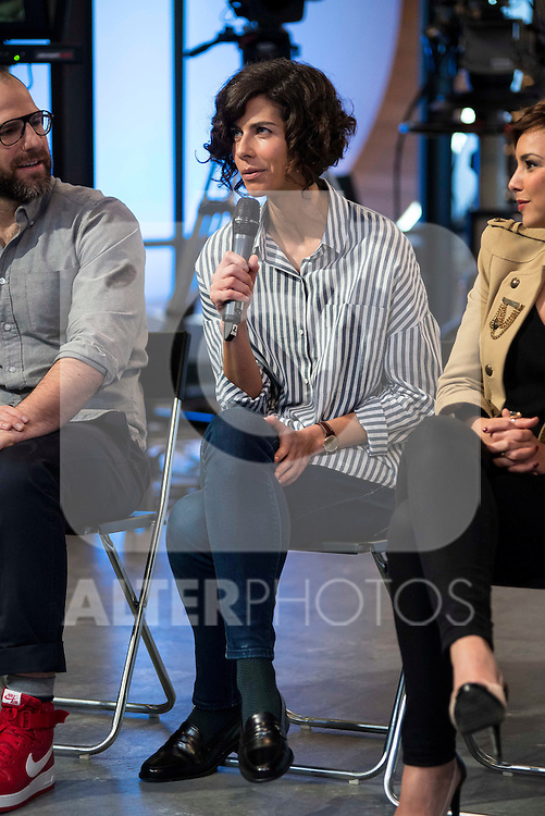 "Cristina Teva during the presentation of the new TV program to Movistar+,  "" Likes "" at 7 y accion studios in Madrid. January 27, 2016.<br /> (ALTERPHOTOS/BorjaB.Hojas)"