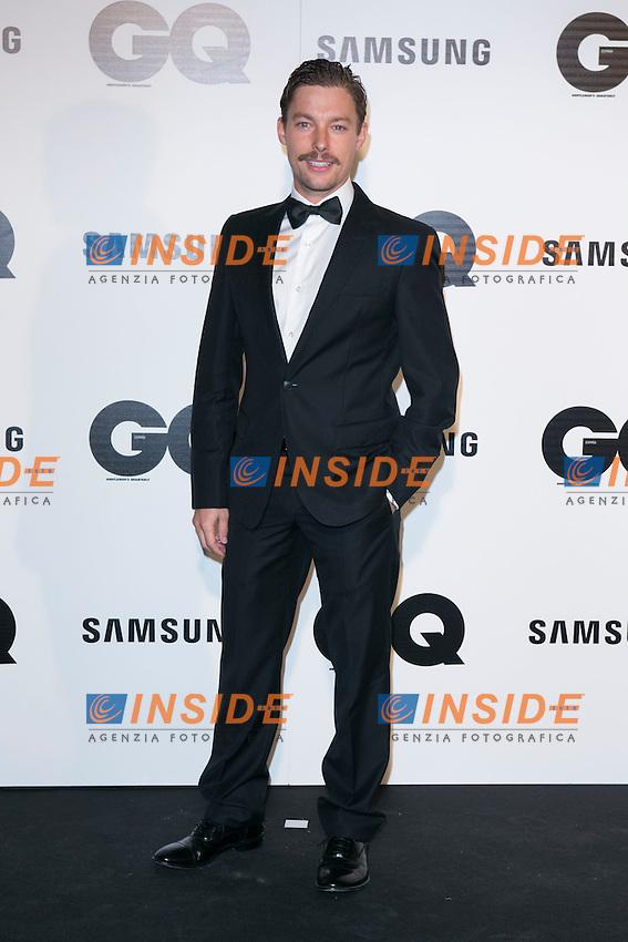 "Jan Cornet attends the ""GQ AWARDS"" at Palace Hotel in Madrid, Spain. November 3, 2014. (ALTERPHOTOS/Carlos Dafonte/Insidefoto)"
