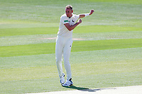 Stuart Broad of Notts celebrates taking the wicket of Alastair Cook during Essex CCC vs Nottinghamshire CCC, Specsavers County Championship Division 1 Cricket at The Cloudfm County Ground on 15th May 2019