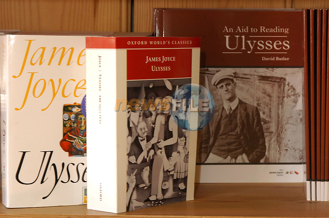 Special Feature on James Joyce.Photo By Fran Caffrey/Newsfile.ie