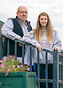 John & Maddie Witte at Delaware Park on October 17, 2015 <br />