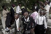 CONGO, DRC:  SAPEURS IN KINSHASA