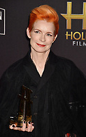BEVERLY HILLS, CA - NOVEMBER 04: Sandy Powell arrives at the 22nd Annual Hollywood Film Awards at the Beverly Hilton Hotel on November 4, 2018 in Beverly Hills, California.<br /> CAP/ROT/TM<br /> &copy;TM/ROT/Capital Pictures