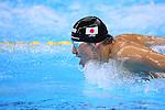 Takuro Fuji (JPN), <br /> AUGUST 13 2016 - Swimming : <br /> Men's 4x100m Medley Relay Final <br /> at Olympic Aquatics Stadium <br /> during the Rio 2016 Olympic Games in Rio de Janeiro, Brazil. <br /> (Photo by Yohei Osada/AFLO SPORT)