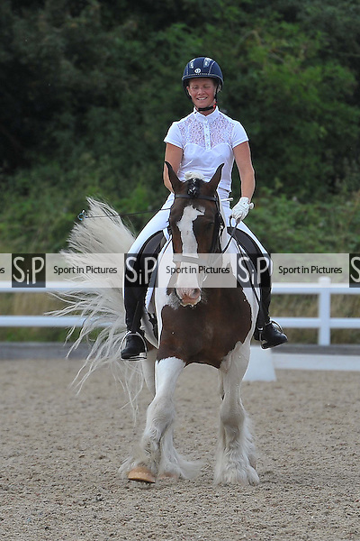 Class 8. British Dressage. Brook Farm Training Centre. Essex. 05/08/2016. MANDATORY Credit Ellie Ingram/Sportinpictures - NO UNAUTHORISED USE - 07837 394578