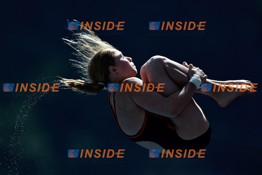 CHUINYSHENA Anna RUS <br /> Platform women Preliminary - Piattaforma Donne <br /> Bolzano 01-08-2014 <br /> 20 Fina Diving Grand Prix <br /> Photo Andrea Staccioli/Insidefoto
