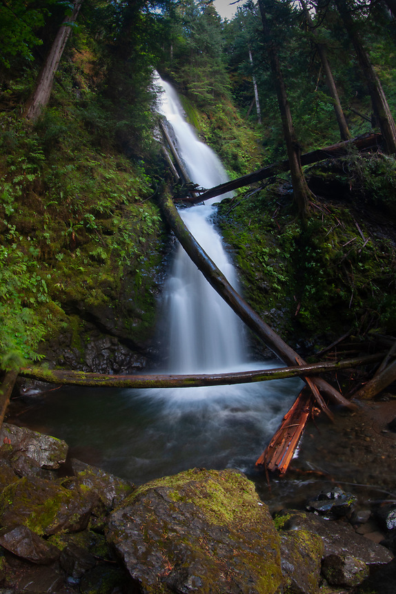 Murhut Falls, Olympic National Forest, Hood Canal Ranger District, Quilcene, WA