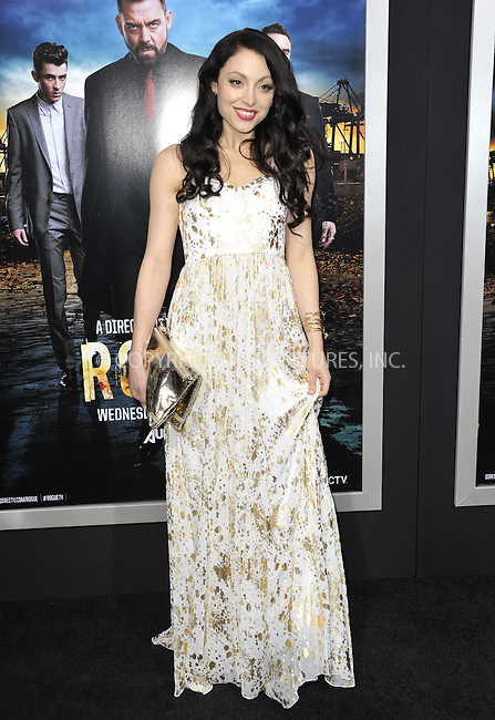 WWW.ACEPIXS.COM....March 26 2013, LA....Leah Gibson arriving at the 'Rogue' Los Angeles premiere at ArcLight Hollywood on March 26, 2013 in Hollywood, California.....By Line: Peter West/ACE Pictures......ACE Pictures, Inc...tel: 646 769 0430..Email: info@acepixs.com..www.acepixs.com