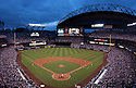 An overall view of Safeco Field in Seattle, during a game between the Seattle Mariners and the Boston Red Sox on September 31, 2003. (AP Photo/Chris Bernacchi)