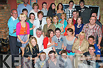 Birthday Boy - Jake Doherty from Lerrig, Ardfert, seated centre having a ball with friends and family at his 21st birthday party held in An Tocher Ban, Kilmoyley on Saturday night........................................................................................................................................................................................... ............