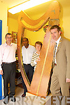 LUCK OF THE IRISH: Ethopian Eshetu Kidane has help and support from The Rotary.Club and Parnership Tra Li to get his unique Irish integration project up and running..Front l-r were: Eshetu Kidane and Chris O'Connell (Trasnet). Back l-r were: Risteard.Pierse (Tralee Rotary Club) and Seamus O'Hara (Partnership Tra Li).