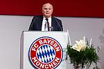 30.11.2018, Audi Dome, Muenchen, GER, FC Bayern Jahreshauptversammlung 2018, im Bild Uli Hoeness (Praesident FCB) <br /> <br /> Foto &copy; nordphoto / Straubmeier