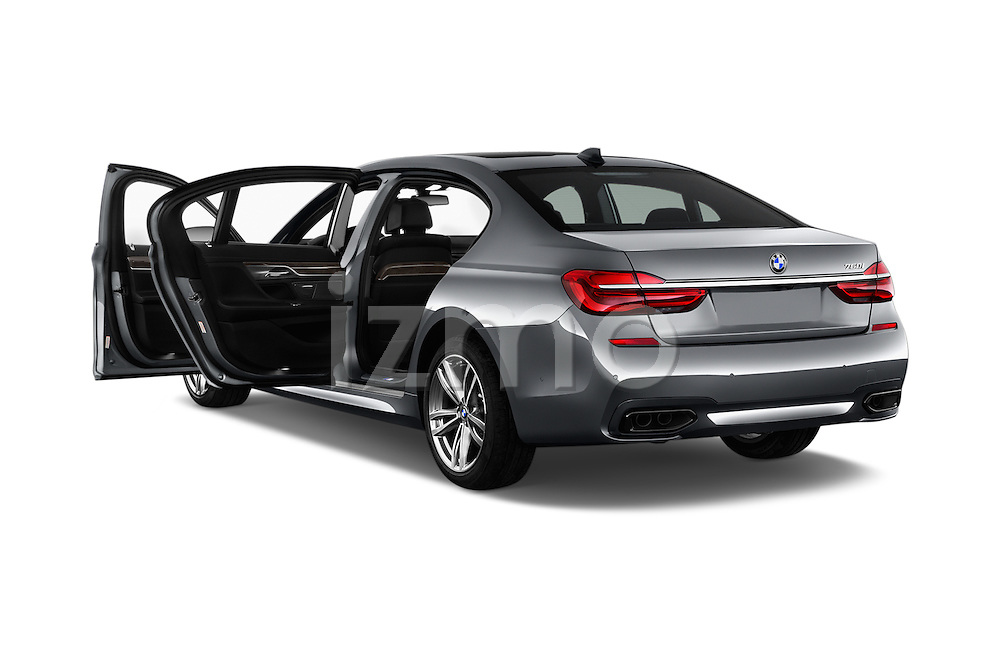 Car images of 2016 BMW 7 Series 4 Door Sedan Doors