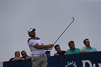 Zander Lombard (RSA) tees off the 2nd tee during Saturday's Round 3 of the 2018 Dubai Duty Free Irish Open, held at Ballyliffin Golf Club, Ireland. 7th July 2018.<br /> Picture: Eoin Clarke | Golffile<br /> <br /> <br /> All photos usage must carry mandatory copyright credit (&copy; Golffile | Eoin Clarke)