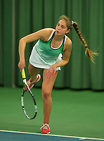 Rotterdam, The Netherlands, March 18, 2016,  TV Victoria, NOJK 14/18 years, Flory Bierma(NED)<br /> Photo: Tennisimages/Henk Koster