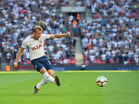 Tottenham's Harry Kane  during the Premier League match between Tottenham Hotspur and Burnley at White Hart Lane, London, England on 27 August 2017. Photo by Andrew Aleksiejczuk / PRiME Media Images.