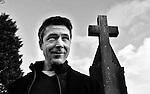 Aidan Gillen star of 'Love / Hate' and The Wire pictured outside St. James's Church in Dingle, County Kerry where he will present   'Other Voices' this weekend. The mega movie star who plays 'John Boy' in Love /Hate will introduce top Irish bands including The Frames and GlenHansard, The Coronas and many more for this popular event as part of the Dingle Festival of Light.<br /> Picture by Don MacMonagle