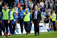 Portsmouth Manager, Kenny Jackett, heads to the dressing room at the final whistle during Gillingham vs Portsmouth, Sky Bet EFL League 1 Football at the MEMS Priestfield Stadium on 8th October 2017
