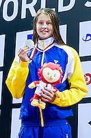 HANSSON Sophie SWE<br /> 100 Breaststroke Women Final Silver Medal<br /> Day04 28/08/2015 - OCBC Aquatic Center<br /> V FINA World Junior Swimming Championships<br /> Singapore SIN  Aug. 25-30 2015 <br /> Photo A.Masini/Deepbluemedia/Insidefoto