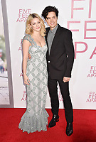 WESTWOOD, CA - MARCH 07: Lili Reinhart (L) and Cole Sprouse attend the Premiere Of Lionsgate's 'Five Feet Apart' at Fox Bruin Theatre on March 07, 2019 in Los Angeles, California.<br /> CAP/ROT/TM<br /> &copy;TM/ROT/Capital Pictures