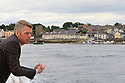 TRAVEL PIECE TO GO WITH GLENN PATTERSON COUNTY DOWN - Glynn Patterson on the Strangford Ferry.  Photo/Paul McErlane