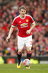 Bastian Schweinsteiger of Manchester United in action during the Emirates FA Cup match at Old Trafford. Photo credit should read: Philip Oldham/Sportimage