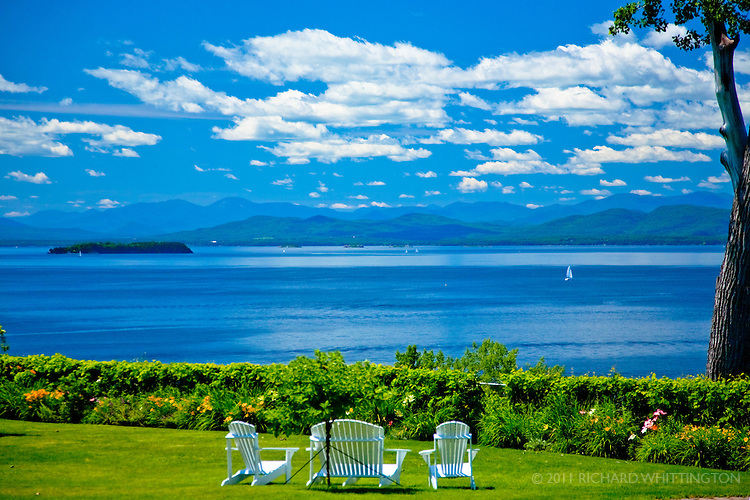 Lake Champlain, Burlinton, Vermont.