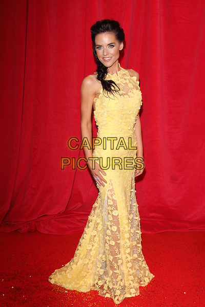 LONDON, ENGLAND - MAY 24:  Stephanie Waring attends the British Soap Awards at Hackney Empire on May 24, 2014 in London, England<br /> CAP/ROS<br /> &copy;Steve Ross/Capital Pictures