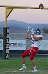 A photograph from the Reno at Galena football game played on Friday night Sept. 16, 2016 at Galena High School. Reno's Will Barnard
