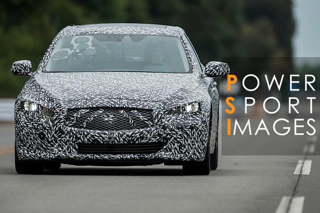 Formula One Double World Champion Sebastian Vettel and Infiniti Brand Ambassador first drive of the Infiniti FX Vettel Edition production car at the Infiniti's global manufacturing plant on October 03, 2012 in Tochigi, Japan. Photo by Victor Fraile / The Power of Sport Images