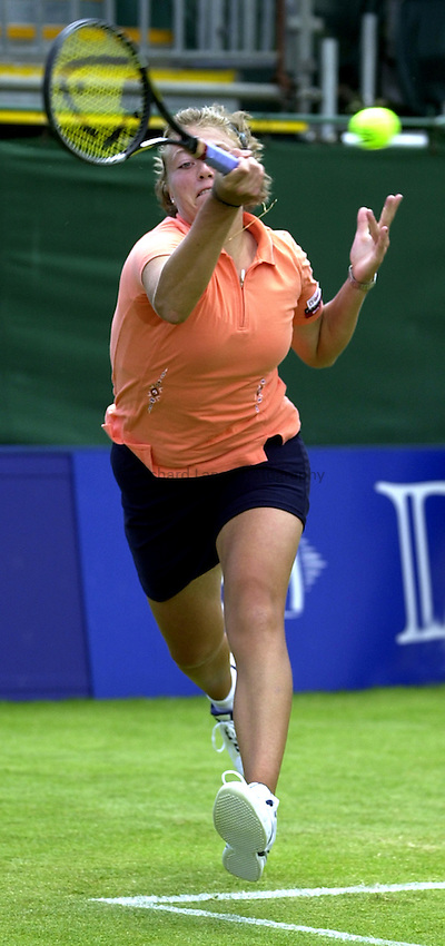 Photo: Richard Lane..DFS Classic Women's International Tennis at Edgebaston. 12/06/2003..Marie-Gaianeh Mikaelian.