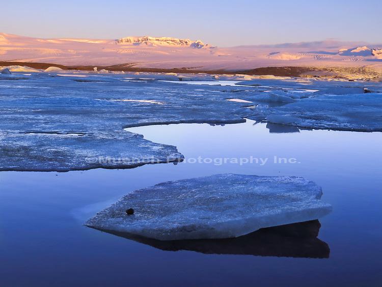 Jokulsarlon Glacial River Lagoon,Vatnajokull National Park,Iceland