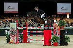 Marco Kutscher of Germany riding van Gogh in action during the Longines Speed Challenge competition as part of the Longines Hong Kong Masters on 13 February 2015, at the Asia World Expo, outskirts Hong Kong, China. Photo by Li Man Yuen / Power Sport Images
