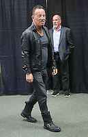 FREEHOLD, NJ - SEPTEMBER 27 : Bruce Springsteen pictured at the first stop of his new memoir, Born To Run book event in his hometown of Freehold, NJ at a Barnes & Noble on September 27, 2016   photo credit  Star Shooter/MediaPunch