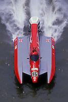 #16 USFORA Formula One (F1) Tunnel Boats, Cincinnati, Ohio 1989
