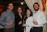 NWA Democrat-Gazette/CARIN SCHOPPMEYER Michael and Megan Iseman (from left) and Sarah and Andrew Dabney attend Winetopia.