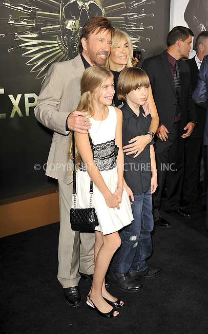 WWW.ACEPIXS.COM......August 15, 2012, Los Angels, CA.......Chuck Norris arriving at the Los Angeles Premiere of 'The Expendables 2' on August 15, 2012 in Hollywood, CA.......By Line: Peter West/ACE Pictures....ACE Pictures, Inc..Tel: 646 769 0430..Email: info@acepixs.com