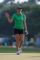 Jaye Marie Green (USA) steps on the green on 18 during round 4 of the 2019 US Women's Open, Charleston Country Club, Charleston, South Carolina,  USA. 6/2/2019.<br /> Picture: Golffile | Ken Murray<br /> <br /> All photo usage must carry mandatory copyright credit (© Golffile | Ken Murray)