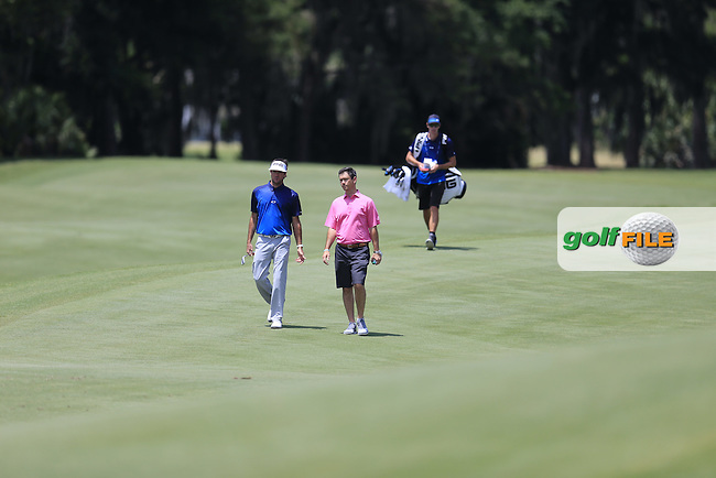 Bubba Watson (USA) on the 2nd during practice for the Players, TPC Sawgrass, Championship Way, Ponte Vedra Beach, FL 32082, USA. 11/05/2016.<br /> Picture: Golffile | Fran Caffrey<br /> <br /> <br /> All photo usage must carry mandatory copyright credit (&copy; Golffile | Fran Caffrey)