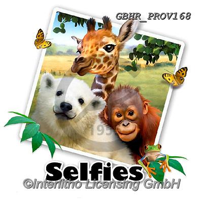 Howard, SELFIES, paintings+++++Jungle Pals Selfie,GBHRPROV168,#Selfies#, EVERYDAY