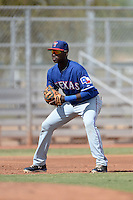 Texas Rangers third baseman Juremi Profar (21) during an Instructional League game against the Cincinnati Reds on October 7, 2013 at Goodyear Training Complex in Goodyear, Arizona.  (Mike Janes/Four Seam Images)