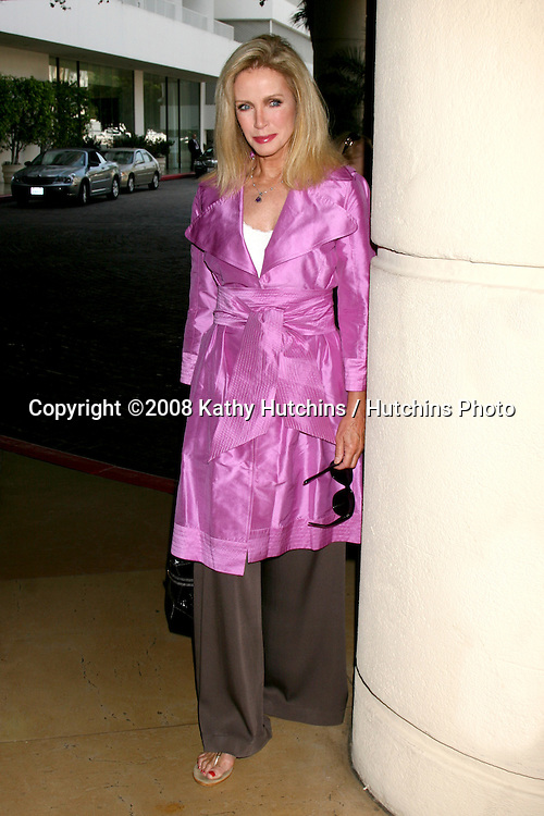 Donna Mills  arriving at the Hallmark Channel Presentation at the TV Critics Tour at the Beverly Hilton Hotel in Beverly Hills, CA on.July 8, 2008.©2008 Kathy Hutchins / Hutchins Photo .