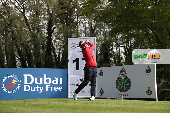 Andy Sullivan (ENG) plays to the 17th during Round One of the 2016 Dubai Duty Free Irish Open Hosted by The Rory Foundation which is played at the K Club Golf Resort, Straffan, Co. Kildare, Ireland. 19/05/2016. Picture Golffile | David Lloyd.<br /> <br /> All photo usage must display a mandatory copyright credit as: &copy; Golffile | David Lloyd.