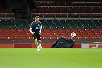 Spain's Sergio Ramos during the pre-International Friendly training session of the Spain squad at the Principality Stadium, Cardiff, UK. Wednesday 10 October 2018