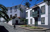 kanarisches Haus, Santa Cruz, La Palma, Kanarische Inseln, Spanien