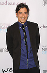 Andrew Keegan arriving at the 6th Annual Night Of Generosity Gala held at The Beverly Wilshire Hotel on December 5, 2014.