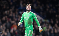 Goalkeeper Ben Foster of WBA during the Premier League match between Chelsea and West Bromwich Albion at Stamford Bridge, London, England on 12 February 2018. Photo by Andy Rowland.