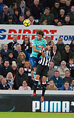 4th November 2017, St James Park, Newcastle upon Tyne, England; EPL Premier League football, Newcastle United Bournemouth; Nathan Aké of AFC Bournemouth beats Ayoze Pérez of Newcastle United in the air
