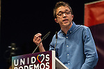 Spanish politician Inigo Errejon during the closing of the electoral campaign of Unidos Podemos. 24,06,2016. (ALTERPHOTOS/Rodrigo Jimenez)