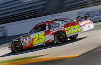 Mar 30, 2007; Martinsville, VA, USA; Nascar Nextel Cup Series driver Casey Mears (25) during practice for the Goody's Cool Orange 500 at Martinsville Speedway. Martinsville marks the second race for the new car of tomorrow. Mandatory Credit: Mark J. Rebilas